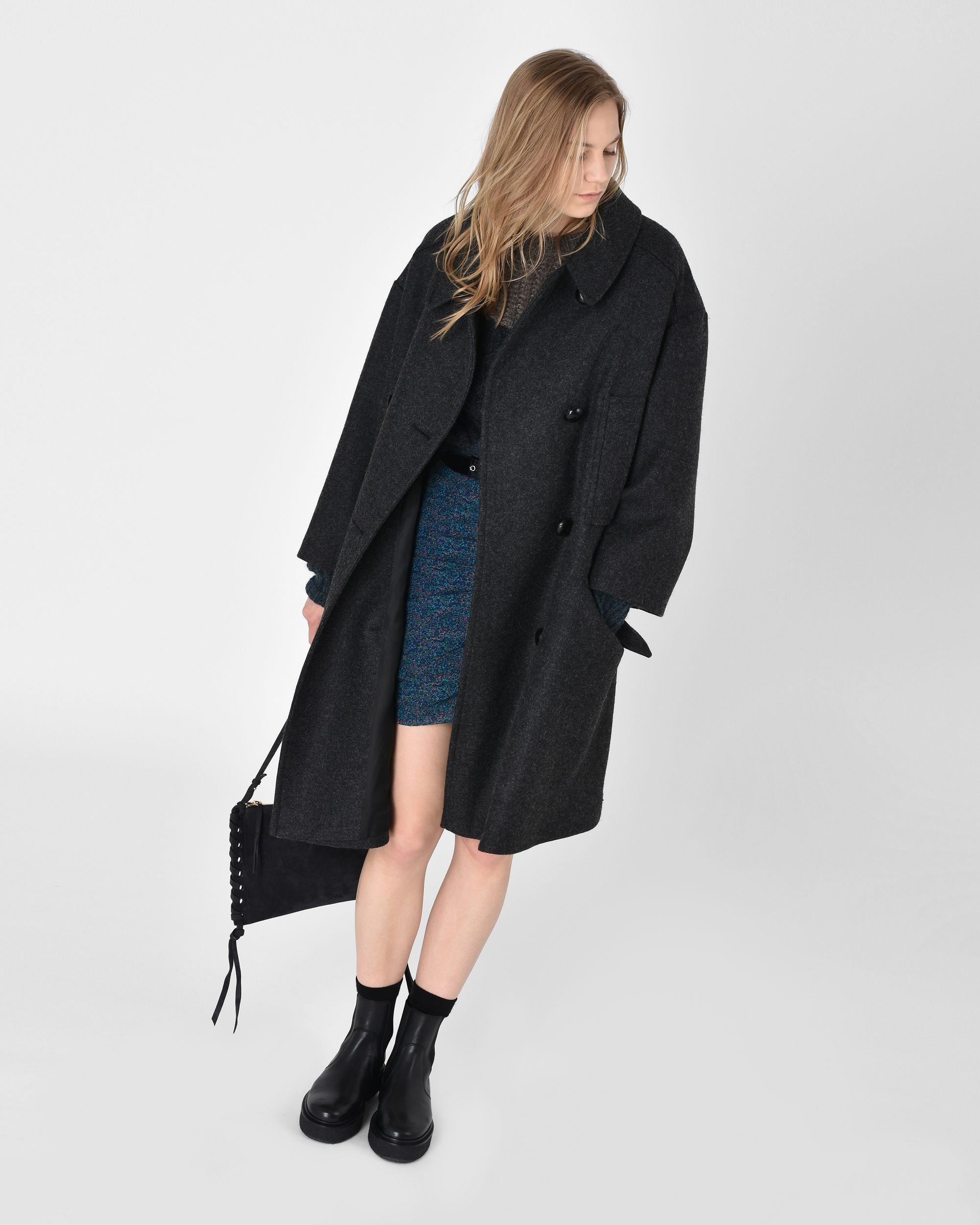 ffef3e21a29a Flicka oversize wool pea coat