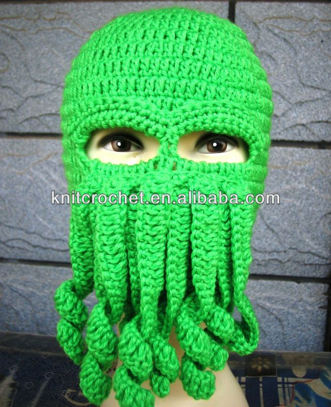 Cthulhu Crochet Hat Pattern Free Google Search Projects To Try