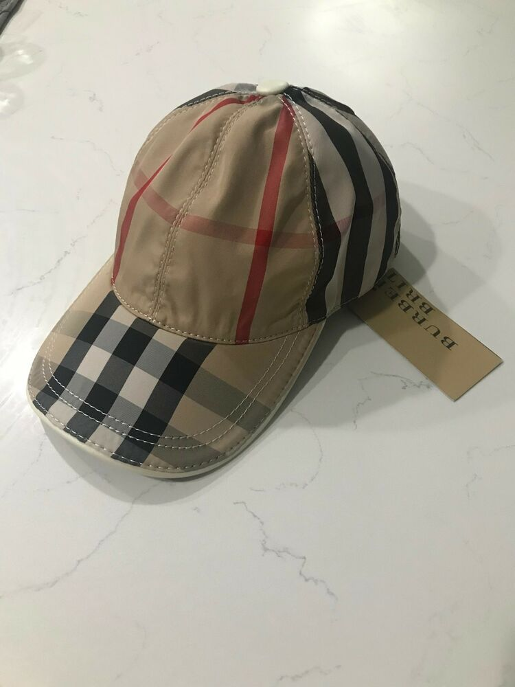 Burberry signature check baseball cap plaid hat  289  fashion  clothing   shoes  accessories  mensaccessories  hats (ebay link) 67170293c62