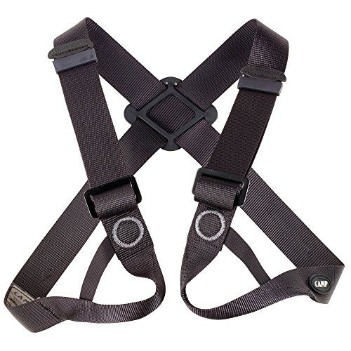 CAMP Figure 8 Chest Climbing Harness - Black Visit the image link more details.