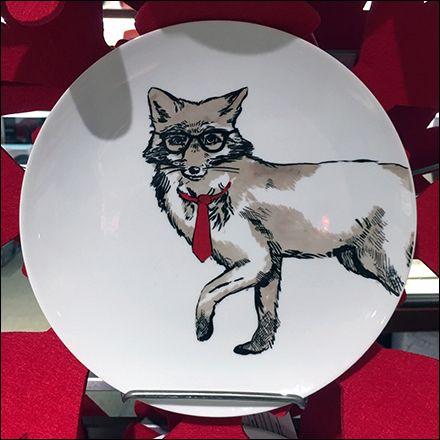Christmas Tableware On Vertical Display Macy\u0027s Fixtures and Visual