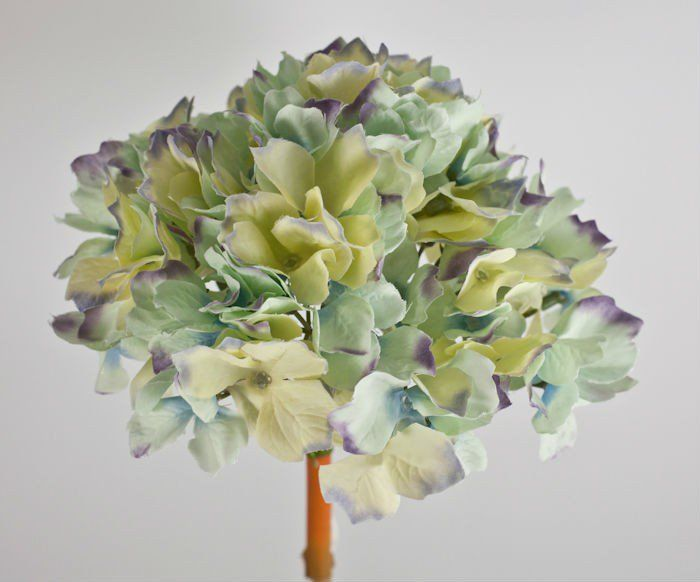 Small silk hydrangea hydrangea wedding and weddings small silk hydrangea wholesale flowers and supplies mightylinksfo