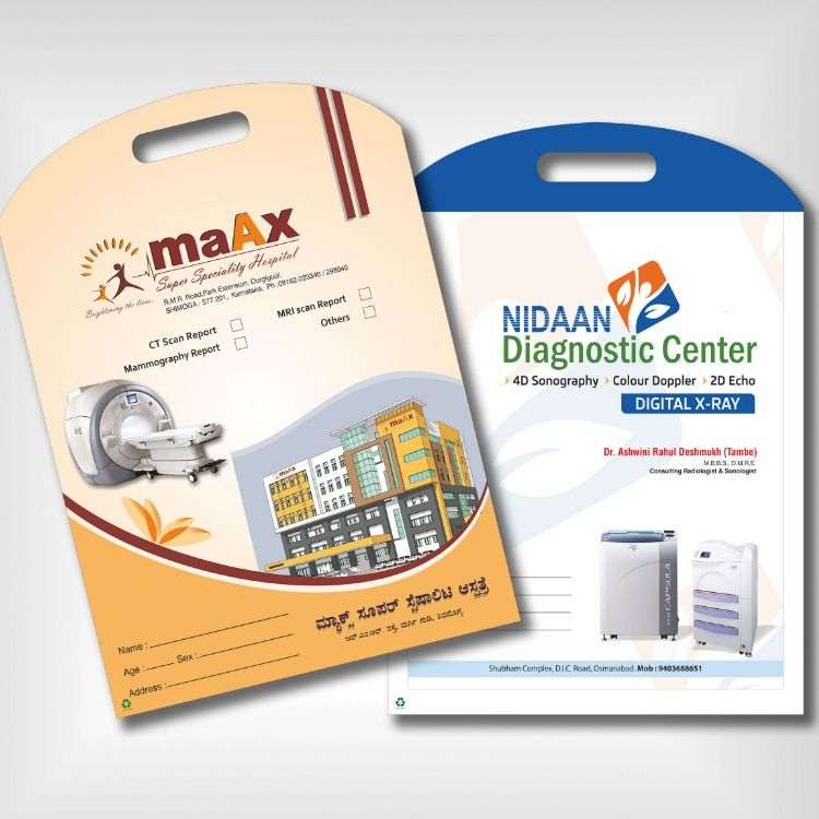 Patient File Doctor File Hospital File X Ray Ct Scan Mri Bags Pvc Files Medical File Folders Ct Scan Brand Packaging Folders
