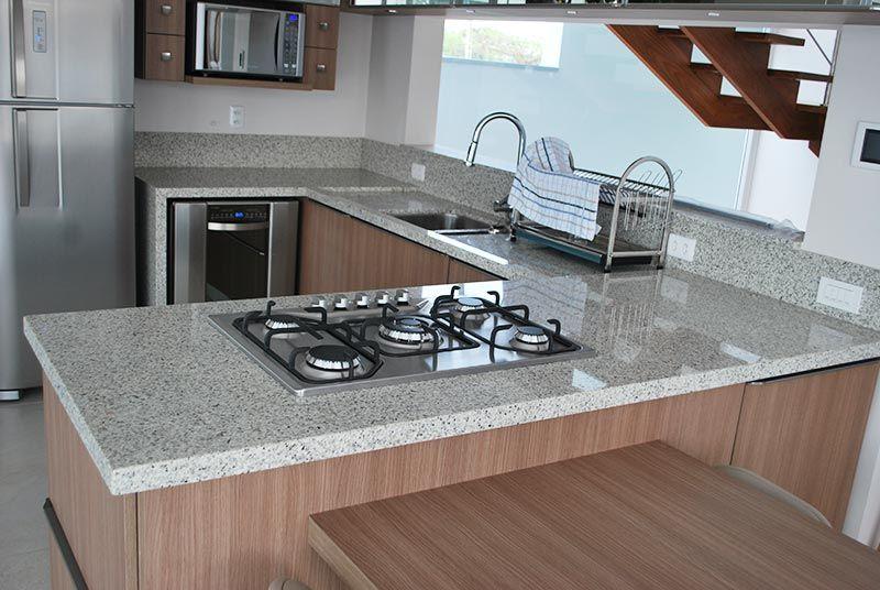 Bancada de Cozinha em Granito Branco Ceará  Cozinhas  Pinterest  Cozinha e # Bancada De Cozinha Em Granito Branco Itaunas