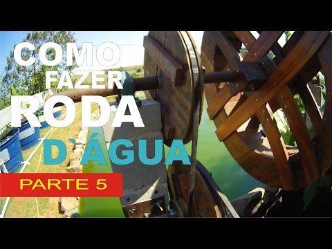 COMO FAZER RODA D`ÁGUA COM GERADOR PARTE 3 - YouTube