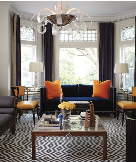 Marcus Design House Tour A Victorian By Tommy Smythe Loving The Navy Sofa
