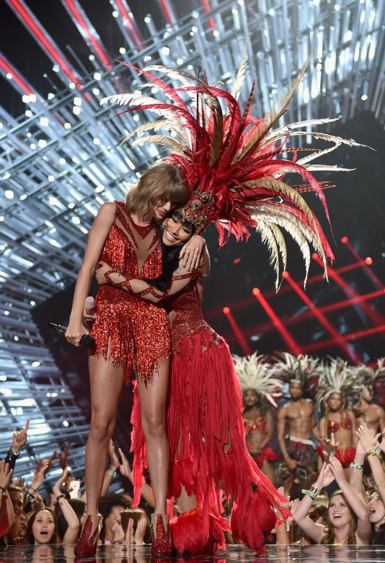 Taylor Swift Nicki Minaj 2015 Nicki Minaj Taylor Swift Nicki Minaj Nicki Minaj Outfits