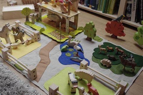 ein bauernhof, semi-handmade | bauernhof spielzeug, bauernhof kinder und junge spielzeug