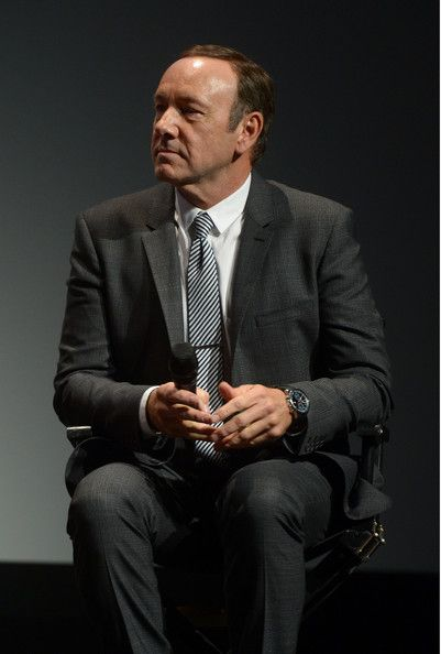 Kevin Spacey listening attentively :)