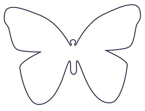 Druckvorlage Schnittmuster Schmetterlinge | Schmetterlinge ...
