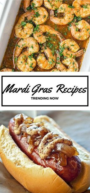 15 Top Mardi Gras Inspired Recipes #cajunandcreolerecipes