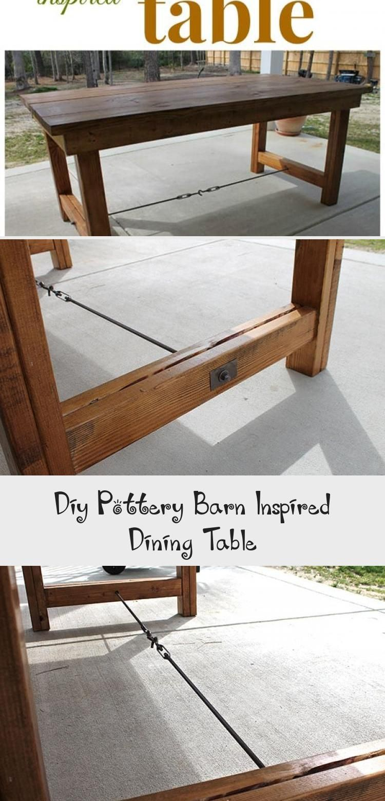 Diy Pottery Barn Inspired Dining Table   Patio lounge ...