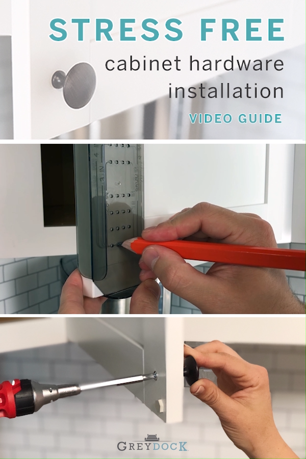 How To Install Cabinet Hardware The