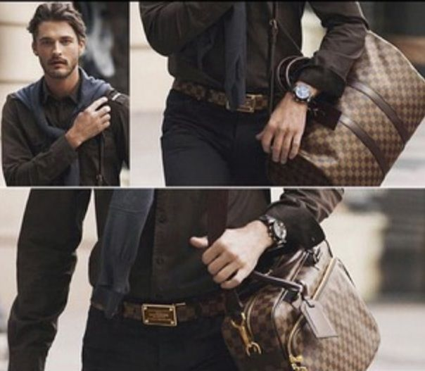 b82bd77fdf19 Cause men also rock bags  LV
