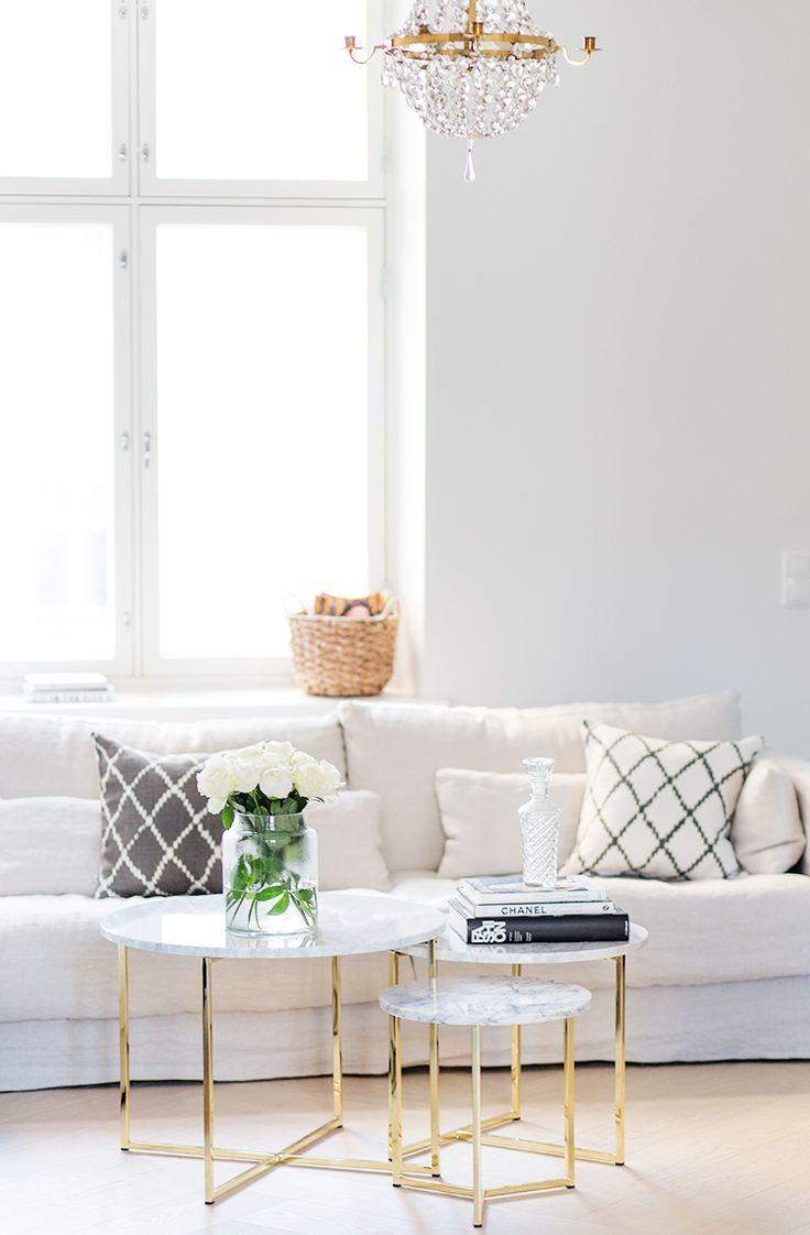 Marmor Tisch kaufen und selber machen DIY | Wohnzimmer || Interior ...