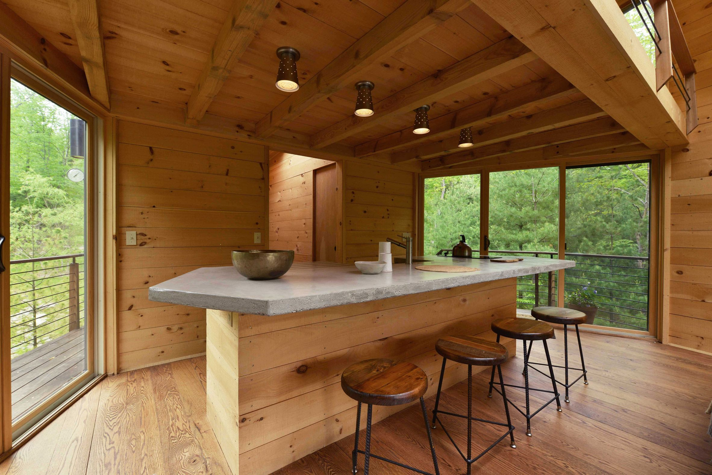 Small Cabin Interior Design