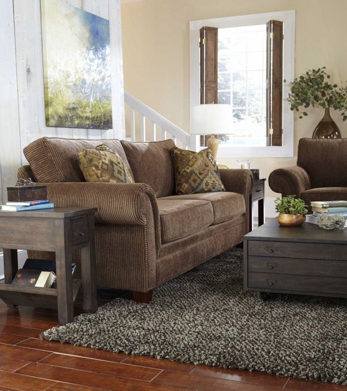 Grey Blue And Brown Living Room Design: Decorating With Brown And Gray