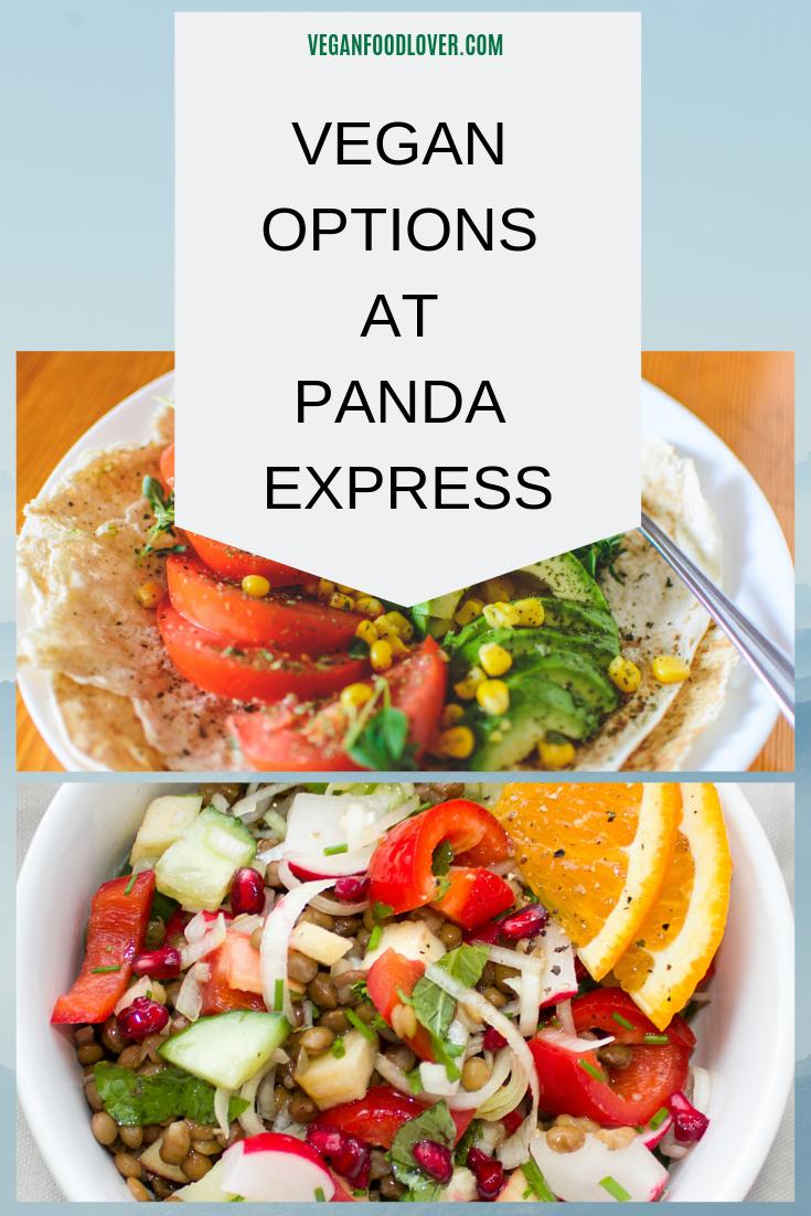 Vegan Options At Panda Express Vegan Food Lover Vegan Fast Food Vegan Options Food Lover