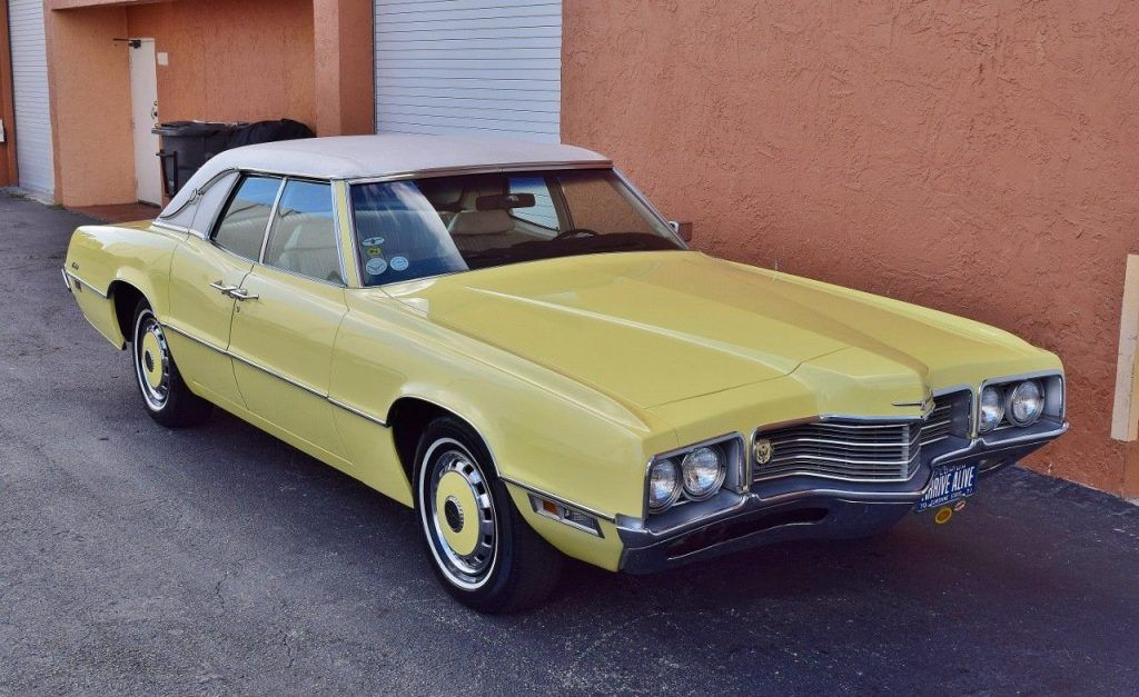 1971 Ford Thunderbird (With images) Ford thunderbird