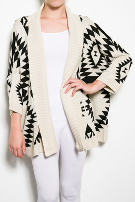 Love this Aztec sweater | Fashion | Pinterest | Aztec, Aztec ...