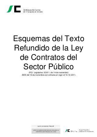 Esquema Ley De Contratos Del Sector Público Fails Study