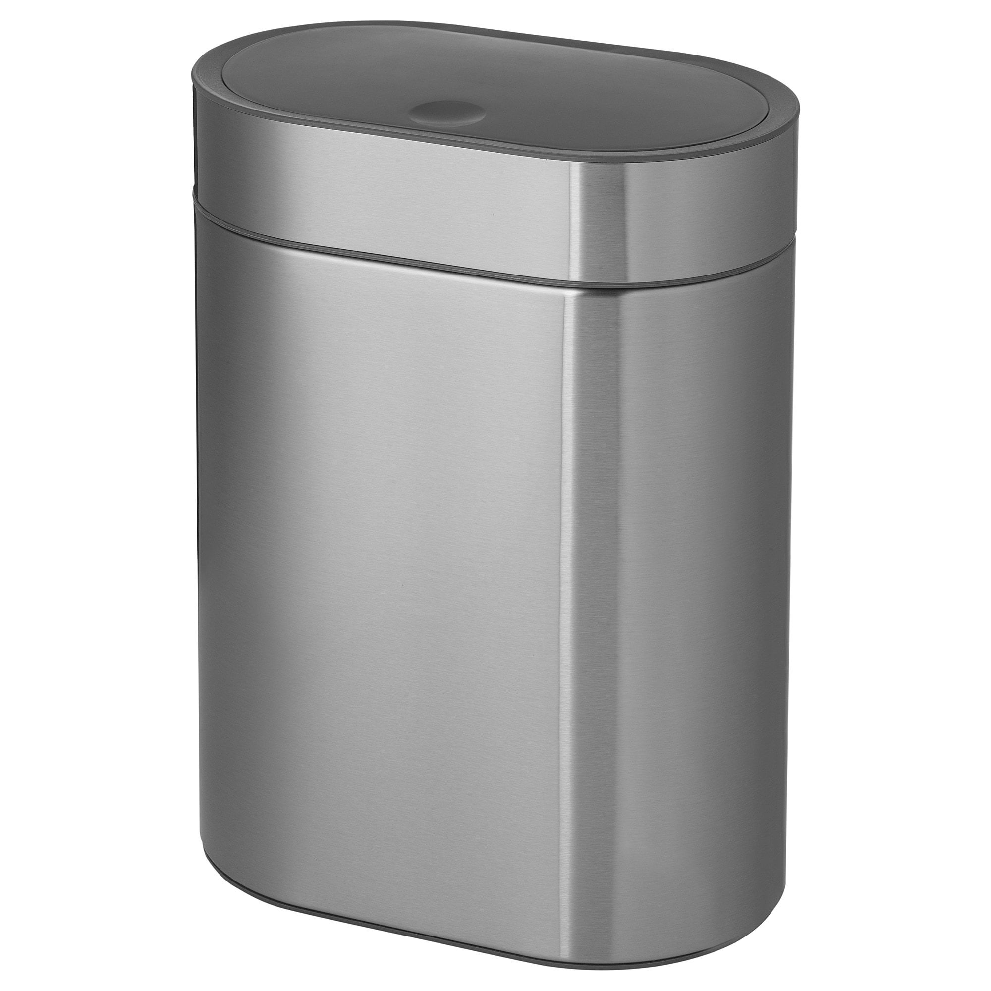 Brogrund Touch Top Bin Stainless Steel 4 L Trash Can Wash Basin Accessories Keep It Cleaner