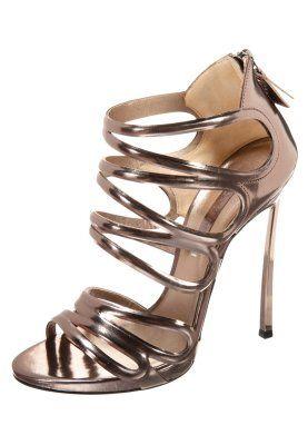 Korolliset sandaalit - kulta