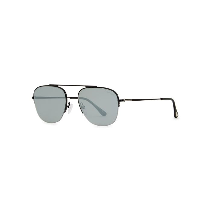 f308b540d TOM FORD ABOTT AVIATOR-STYLE SUNGLASSES. #tomford | Tom Ford ...