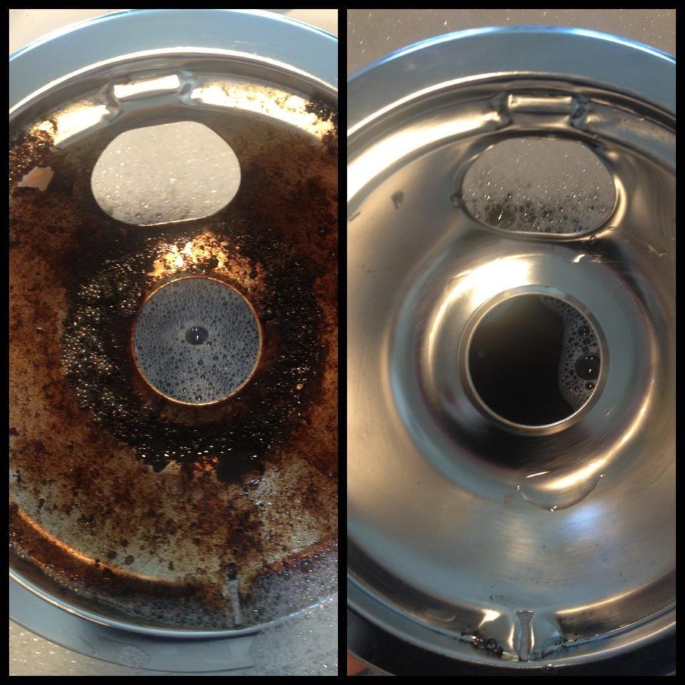 Soak Stove Drip Pans