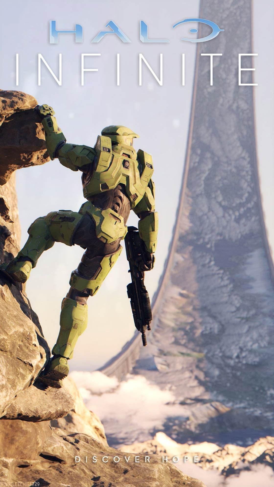Halo Infinite Wallpaper In 2021 Halo Funny Halo Halo Spartan Armor