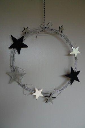 Photo of Ghirlanda di filo con stelle – Fai da te – Karin Urban – NaturalSTyle