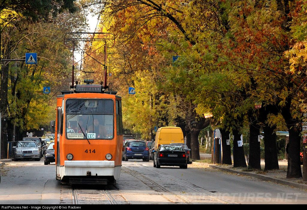 RailPictures.Net Photo: 414 Untitled T6M400 at Sofia, Bulgaria by Ivo Radoev