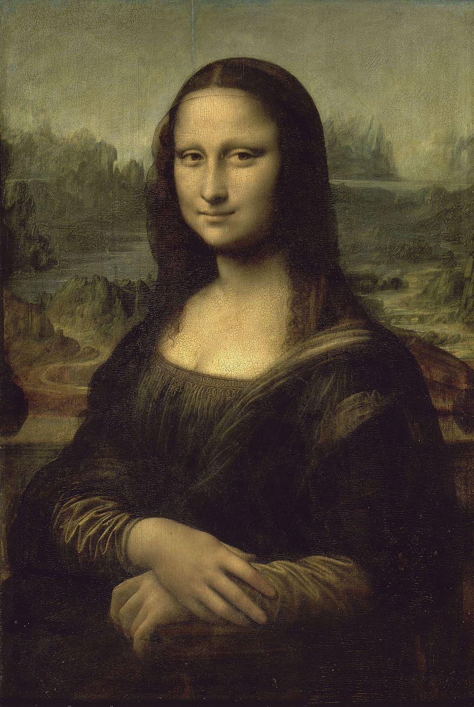 Extrêmement La Joconde, ou Portrait de Mona Lisa, est un tableau de Léonard de  AW56
