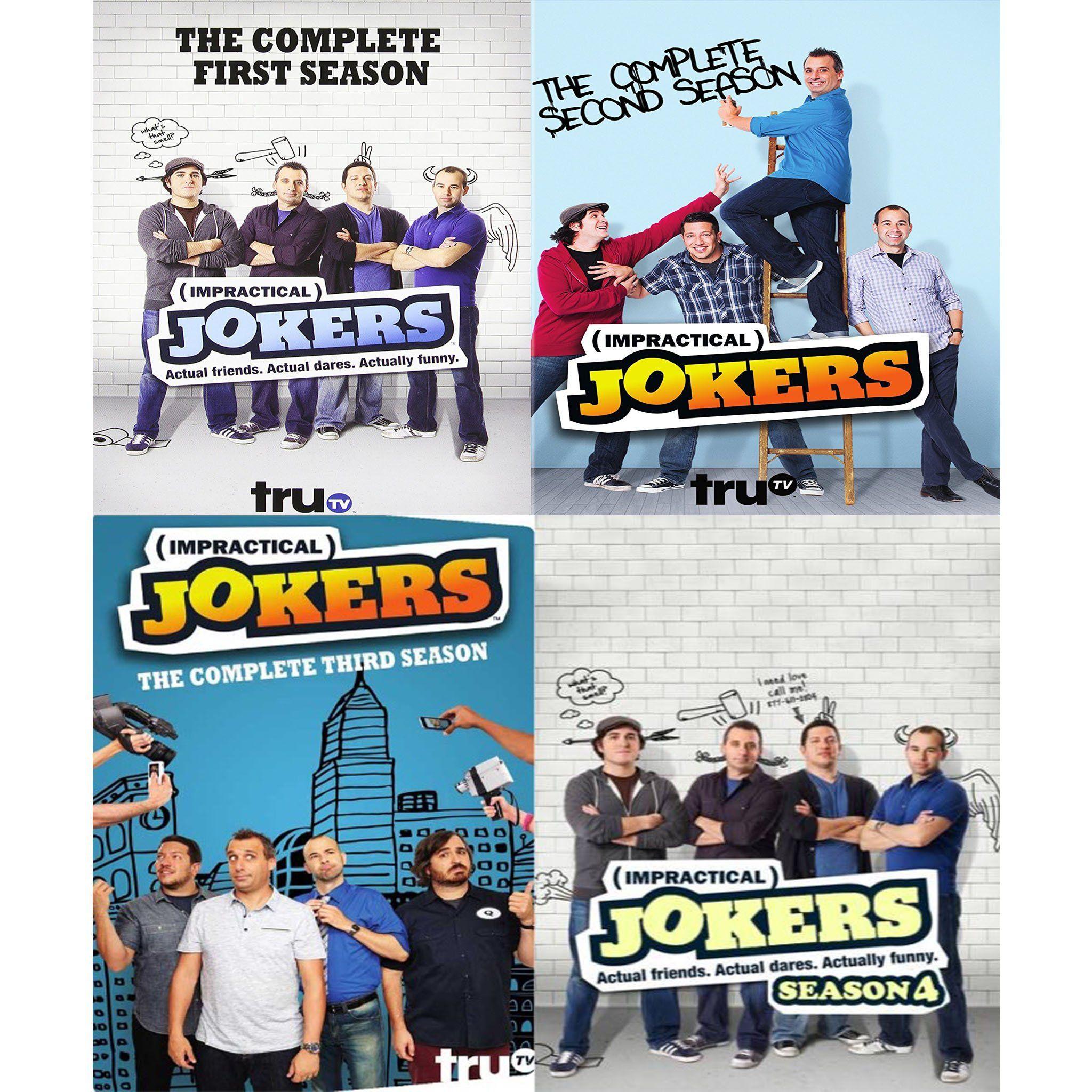 Impractical Jokers DVD Series Seasons 15 Set