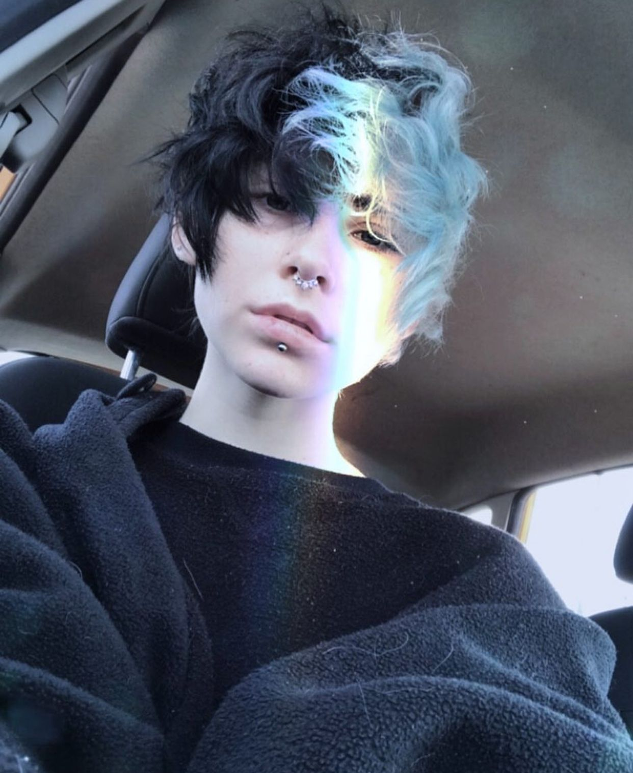 Crypwolf Boys Colored Hair Boys Dyed Hair Short Dyed Hair