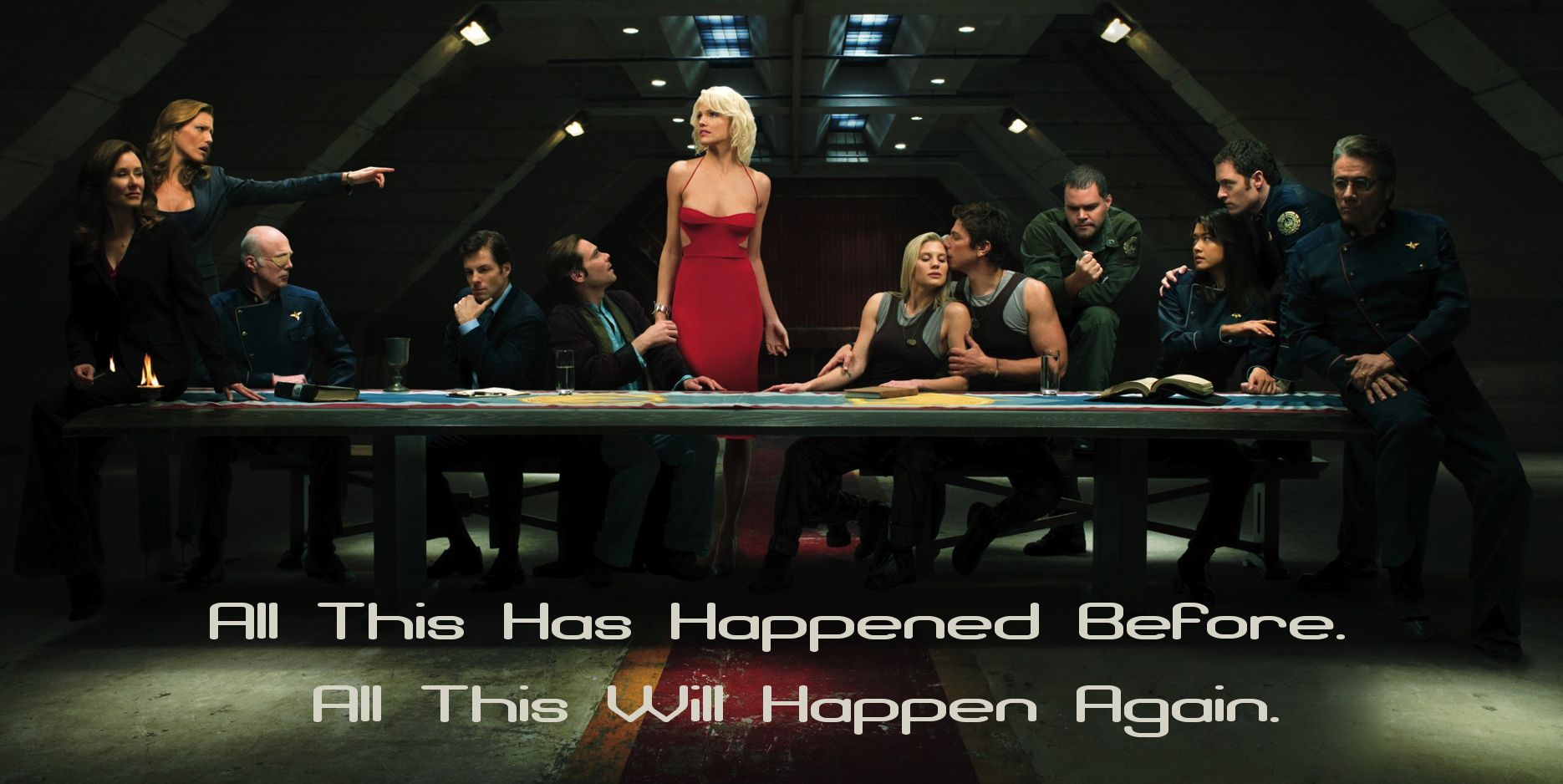 Battlestar Galactica All This Has Happened Before All This Will