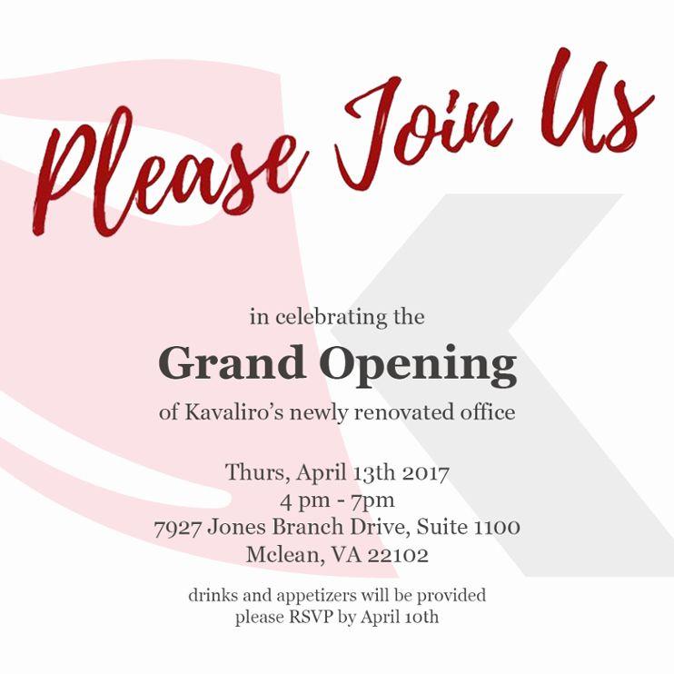 Grand Opening Invitation Ideas Luxury Fice Grand Opening Invitation Grand Opening Invitations Grand Opening Invitations