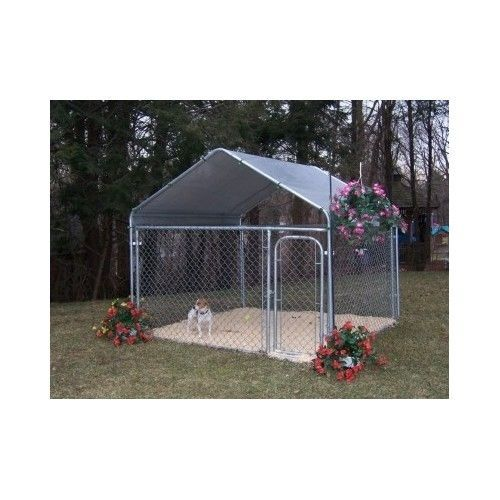 Dog Kennel Cover Protected Rain Sun Tent Roof Pavilion Cage Canopy House Pet  sc 1 st  Pinterest & Dog Kennel Cover Protected Rain Sun Tent Roof Pavilion Cage Canopy ...