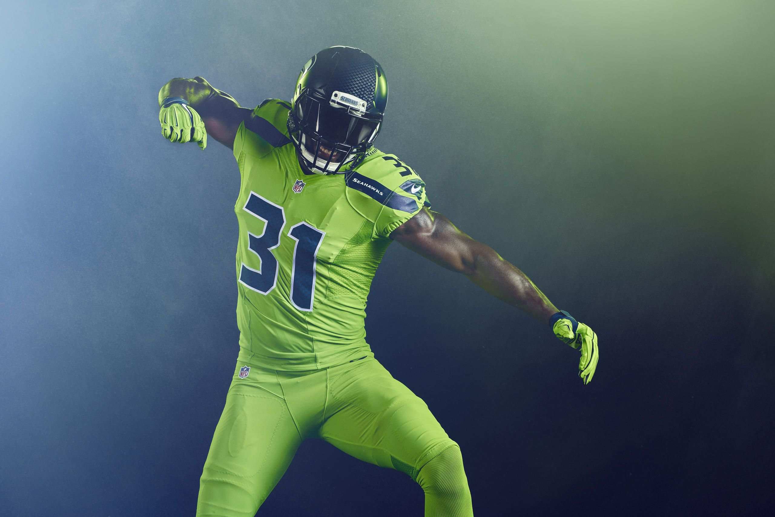 The Seahawks introduced a new alternate uniform on Tuesday that they will  wear in Week 15 against the Los Angeles Rams. f954caa76