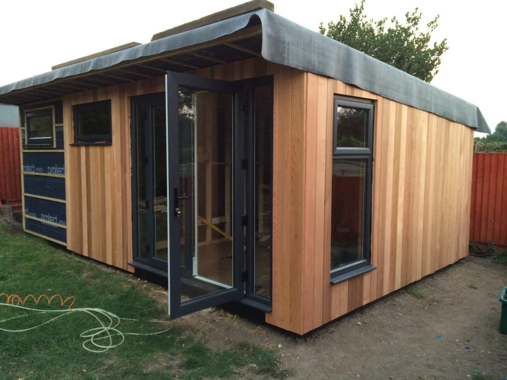 Cladding a shed affordable attractive options page 1 for Affordable garden sheds