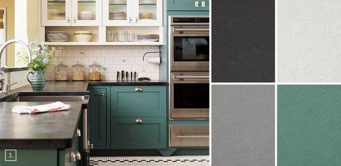 a palette guide for kitchen color schemes decor and paint ideas kitchen colour schemes on kitchen cabinets color combination id=93541