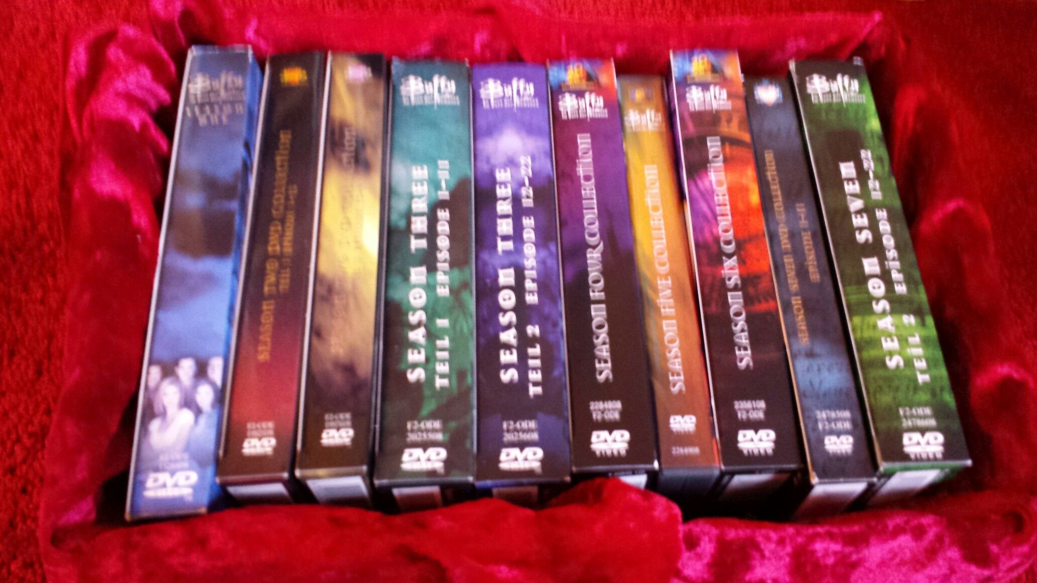 In the box: season 1-7 BTVS