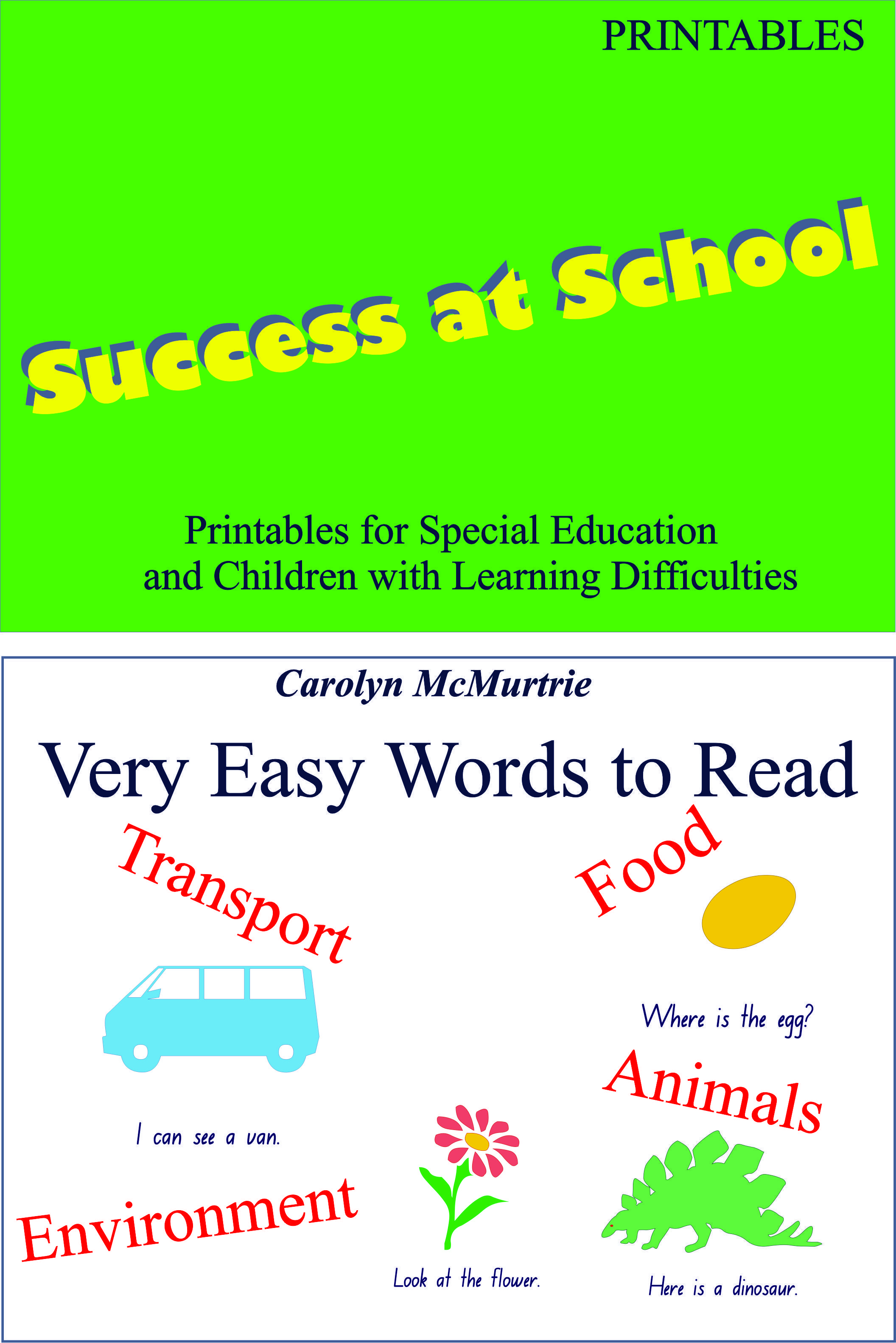 Words To Read And Write Is A Set Of Worksheets For Young
