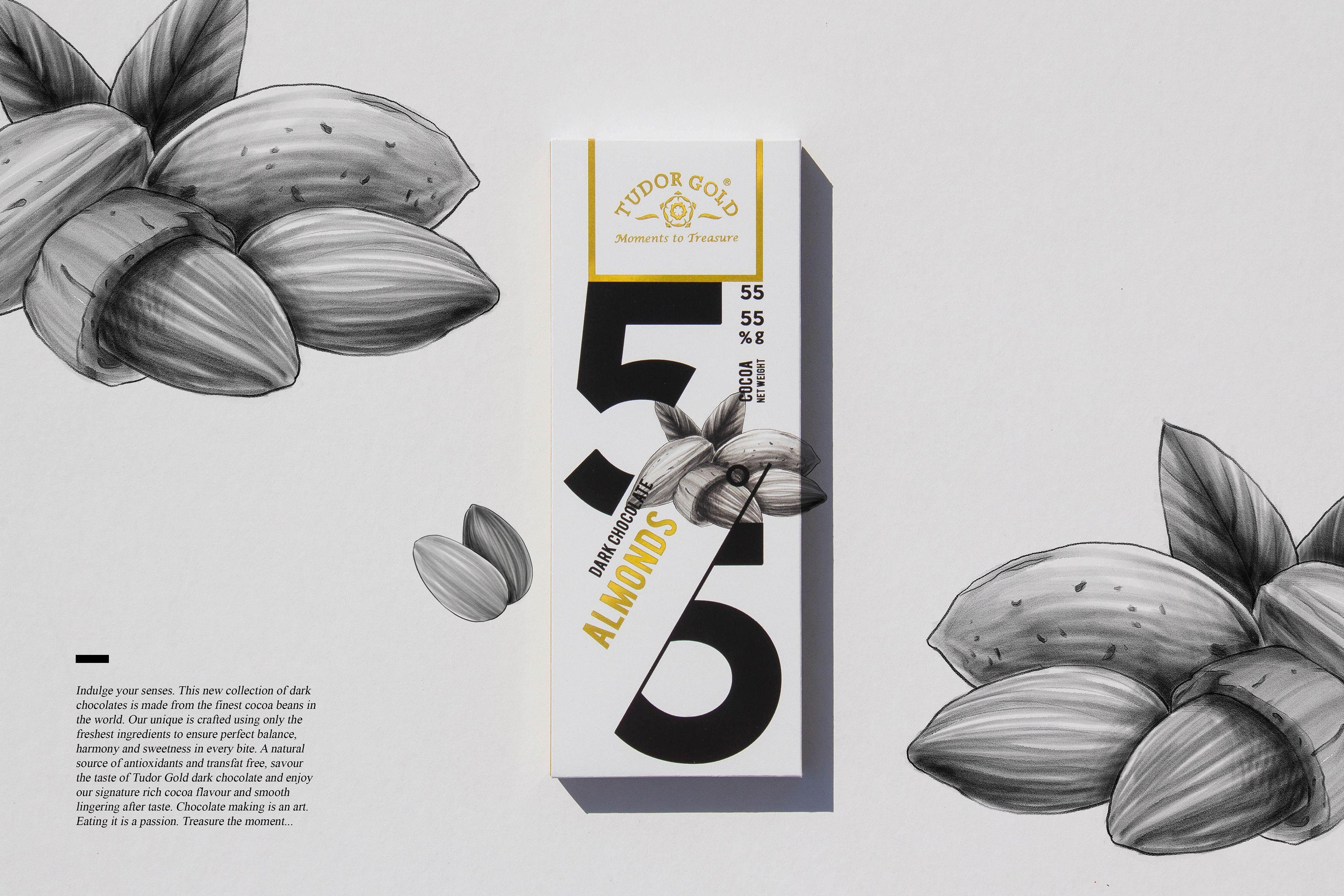 Chocolate Packaging Design —— Tudor Gold on Behance
