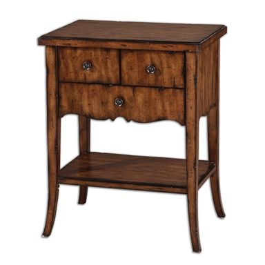 Carmel, End Table, Traditional Bedroom Option