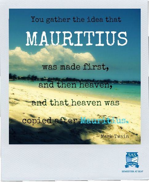 Ohhhh Mauritius.   Places I've been and Places I want to ...