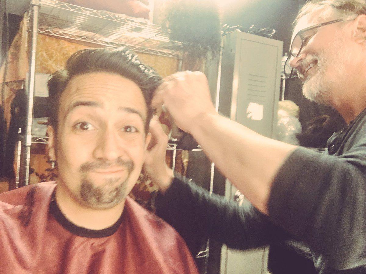 Lin-Manuel Miranda gets a follow-up haircut, two days after his
