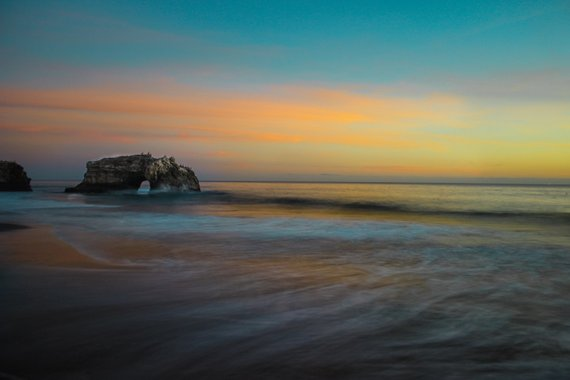 Natural Bridges State Beach California Fine Art Photography Landscape Ocean Rock Amanda Lackides Ca Natural Bridges State Beach Landscape Photography Landscape