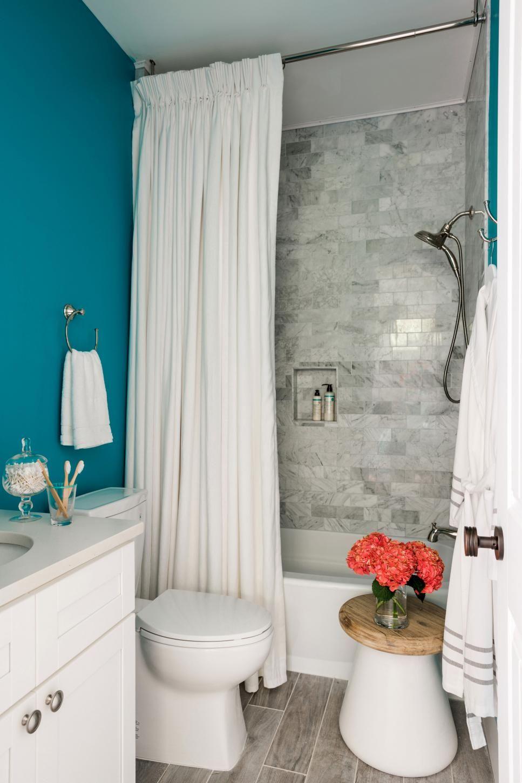 Dream Home 2017: Terrace Suite Bathroom Pictures | Hgtv, Aqua walls ...