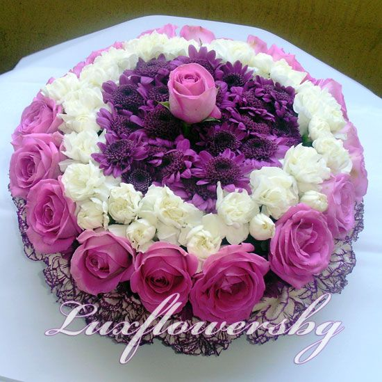 floral birthday cakes Flowers Pinterest Birthday cakes Floral
